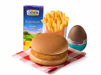 Kids Burger Meal