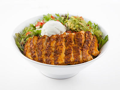 Grilled Achiote Chicken Salad
