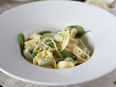 Spinach Ricotta Tortellini
