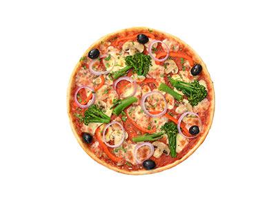 Vegan Giardiniera Pizza