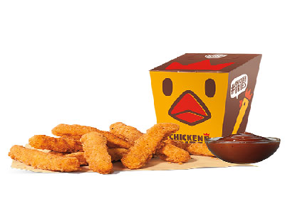 Chicken Fries 10 Pcs