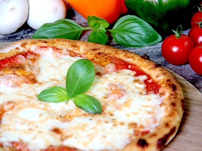 Large Classic Margherita Pizza