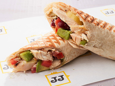 Chicken Avocado Wrap Sandwich