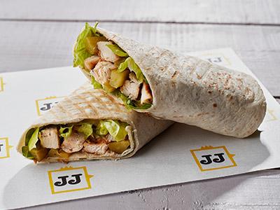 Chicken Caesar Wrap Sandwich