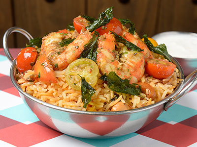 Logma Shrimp Rice