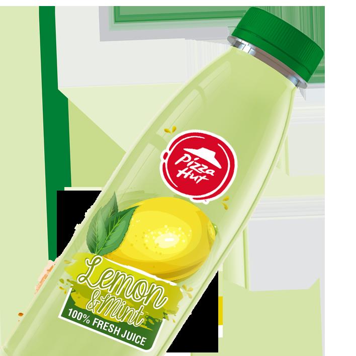Fresh Lemon N Mint Juice