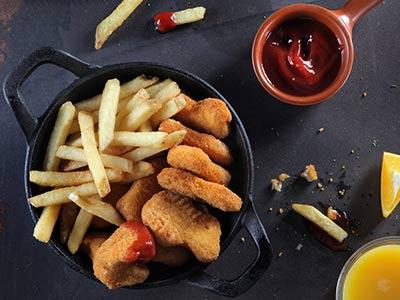 Chicken Nuggets Kids Meals