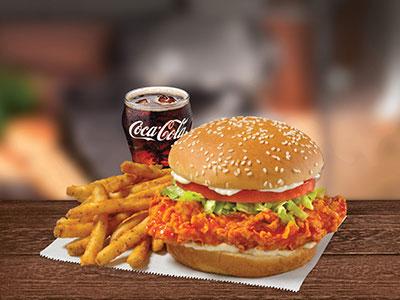 Fiery Buffalo Chicken Combo Sandwich