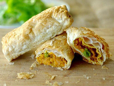 Aloo Cheese Roll - With Egg