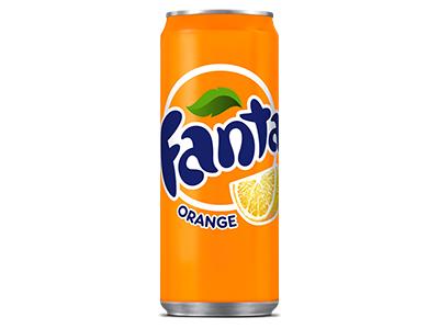 Fanta Orange Regular - Small