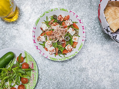 Wild Zaatar Salad