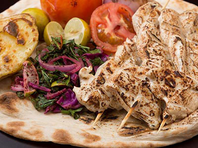 Grilled Chicken Breast Chunky Marinated In Yogurt & The Arabian Peninsulas Spices