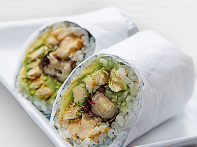 Chicken Katsu Burrito