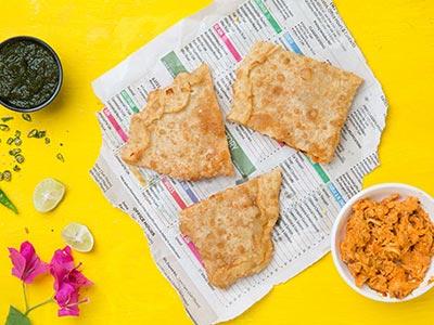 Chicken Paratha