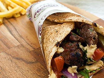 Lamb Kofta Sandwich