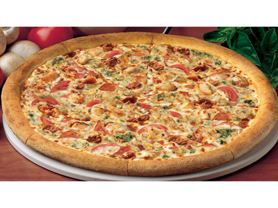 Chicken Florentine Large Pizza