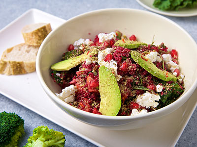 Superfood Salad With A Kick Spicy