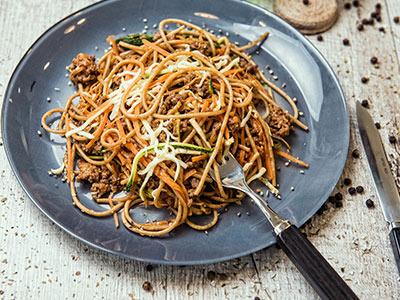 Guiltless Spaghetti Bolognese