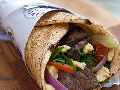 Lamb Kebab Sandwich