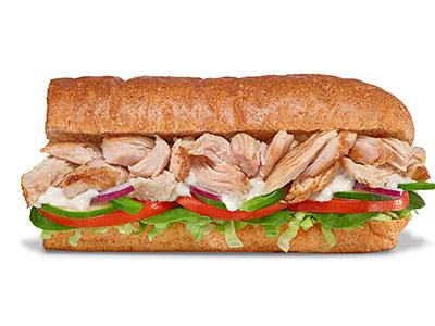 Rotisserie Chicken 6 Inch Sandwich