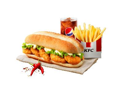 Zinger Shrimp Supreme Combo
