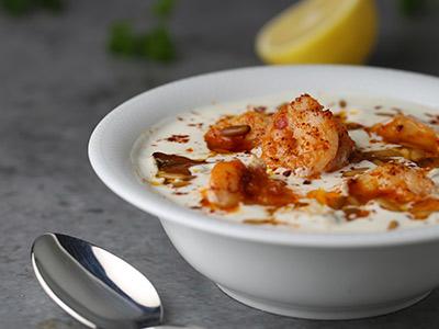 Shrimps Fatteh