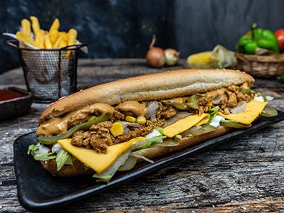 Fajita Chicken Sub Sandwich