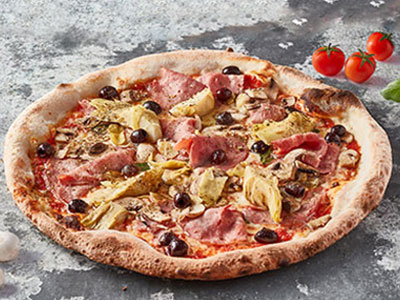 Turkey And Artichokes Pizza
