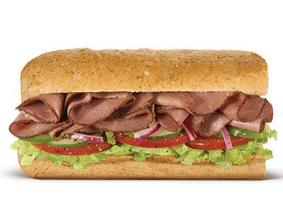 Roast Beef 6 Inch Sandwich