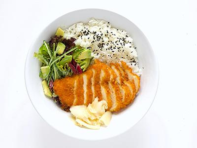 Chicken Katsu Burrito Bowl