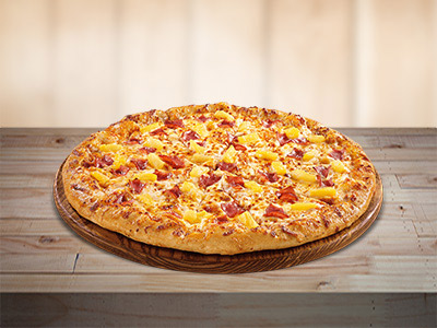 Hawaiian Overload Pizza