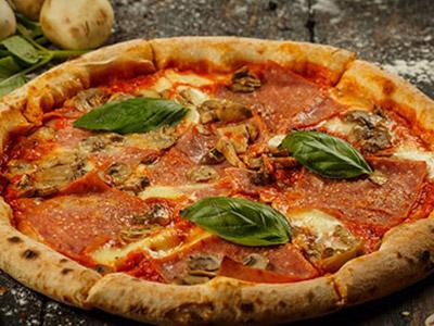 Proscuitto E Funghi Pizza