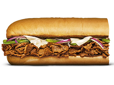 Steak And Cheese 6 Inch Sandwich