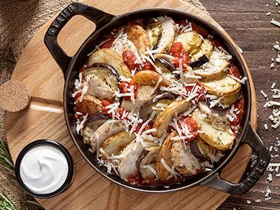 Chicken Marinara Platter