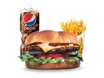 Big Deluxe Burger Combo