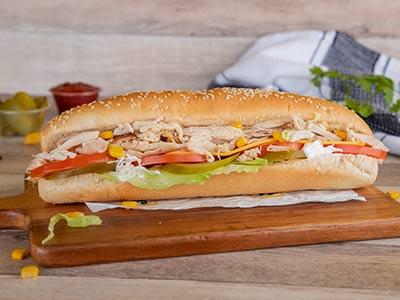 J J Chicken Sub Sandwich