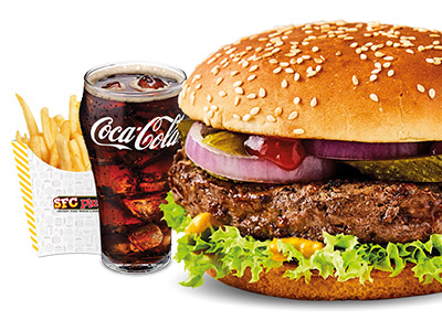 Original Beef Burger Combo
