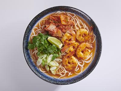 Chili Prawn And Kimchee Ramen