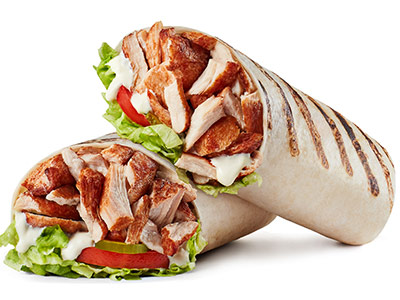 Rotisserie Chicken Wrap