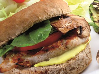 Light Chicken Sandwich
