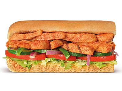 Peri Peri Chicken 6 Inch Sandwich