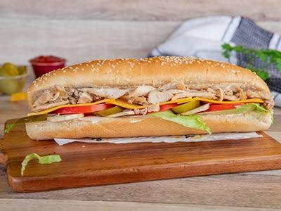 J J Shawarma Sub Sandwich