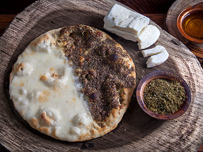 Cheese With Zaatar