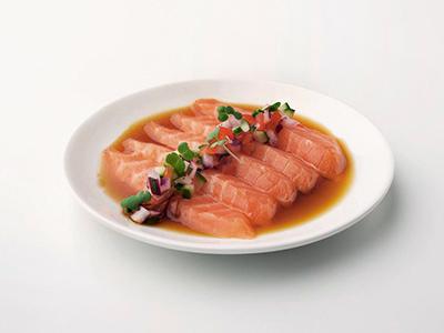 Salmon & Yuzu Salsa