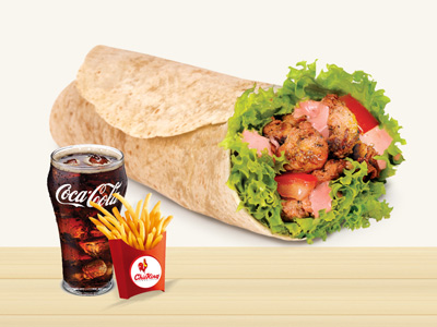 Mexican Wrap Combo