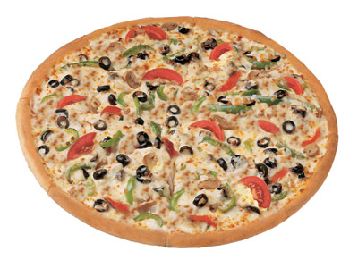 Garden Special Large Pizza
