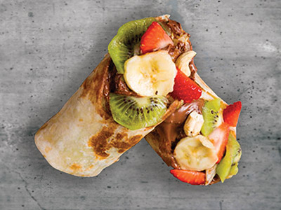 Fruity Nutella Wrap