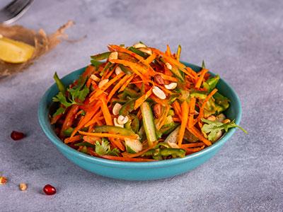 Peanut Kachumber Salad