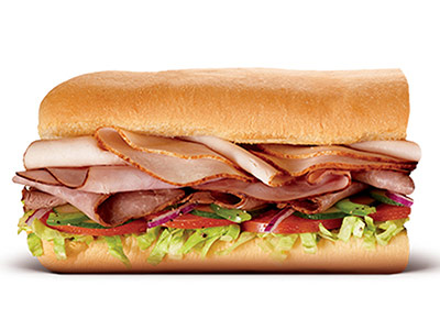 Subway Club 6 Inch Sandwich