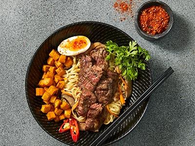 Caramelized Beef Ramen